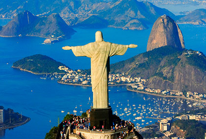 Cristo rio de janeiro brasil