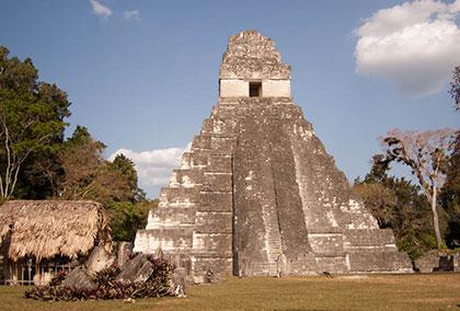 piramide Tikal Guatemala